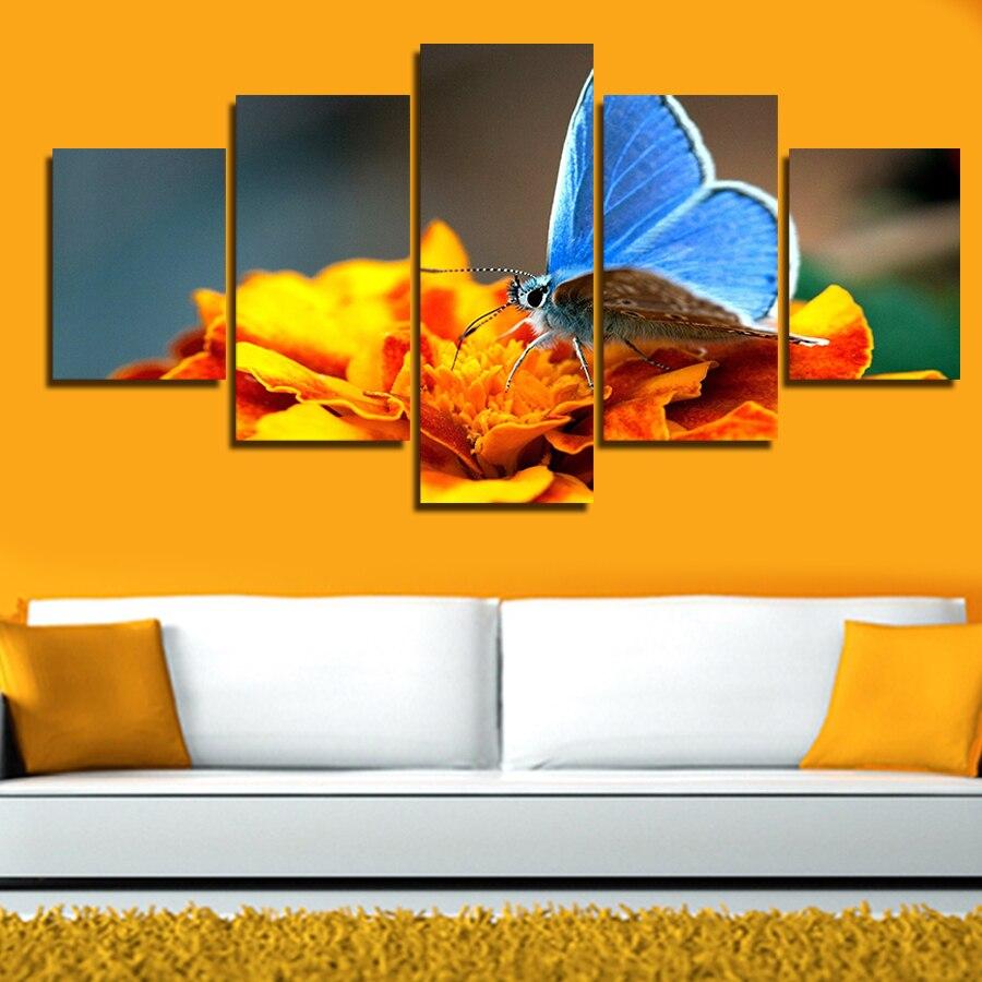 Гарячі Продають 5 панельних великих HD - Домашній декор