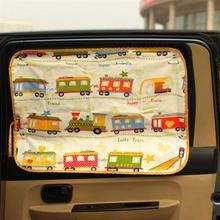 Cartoon Car Side Window Sun Shade Auto Sunshade Protector Curtain For Boys Kids Curtains Cars Rear Side Car Accessories