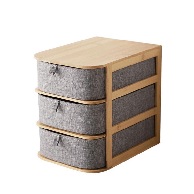 Waterproof Wood Storage Box: Office Waterproof Storage Drawers Home Storages Multi