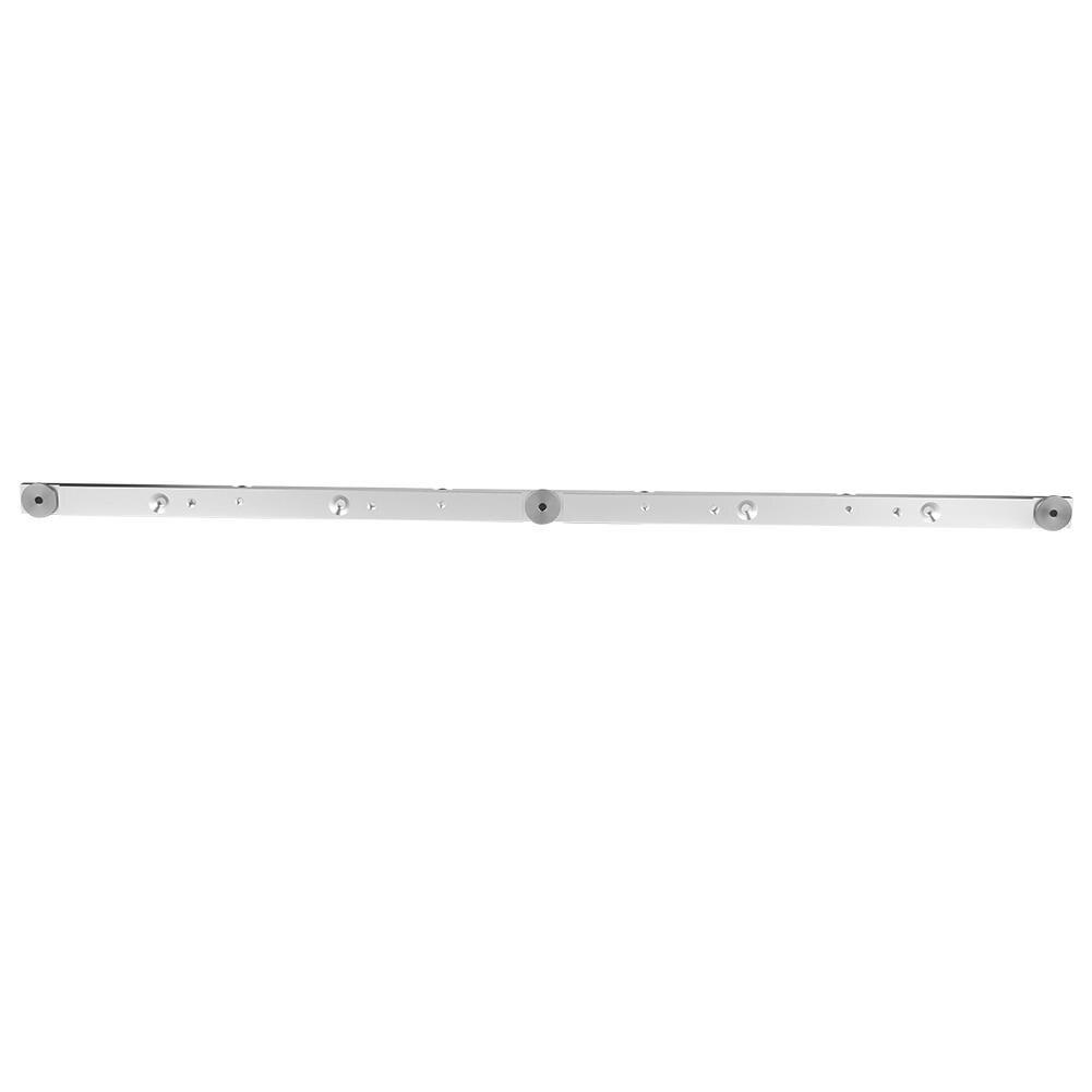Palier linéaire 650mm en alliage d'aluminium Rail Miter Bar curseur Table scie jauge Miter jauge geleiderail
