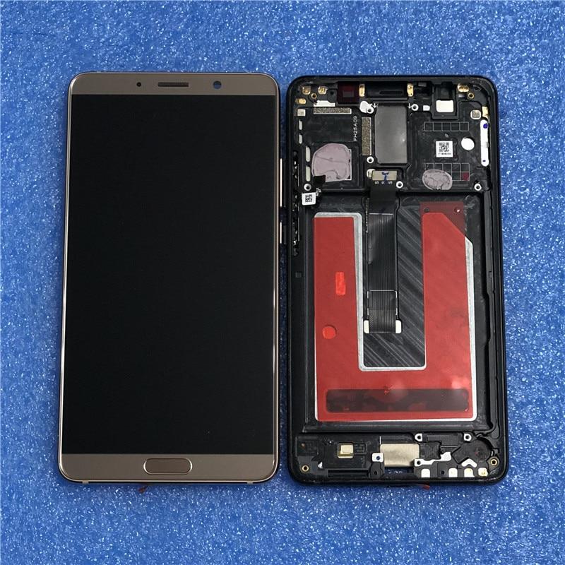 Original LCD Frame For Huawei Mate 10 ALP L09 ALP L29 Axisinternational LCD Display Screen Frame