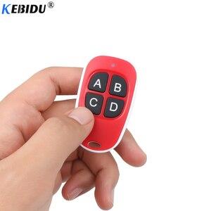 Image 4 - KEBIDU Wireless Remote Control 433Mhz Copy Clone Code Garage Door Gate Car Key Fob Duplicator Scanner Remote Control Door Key
