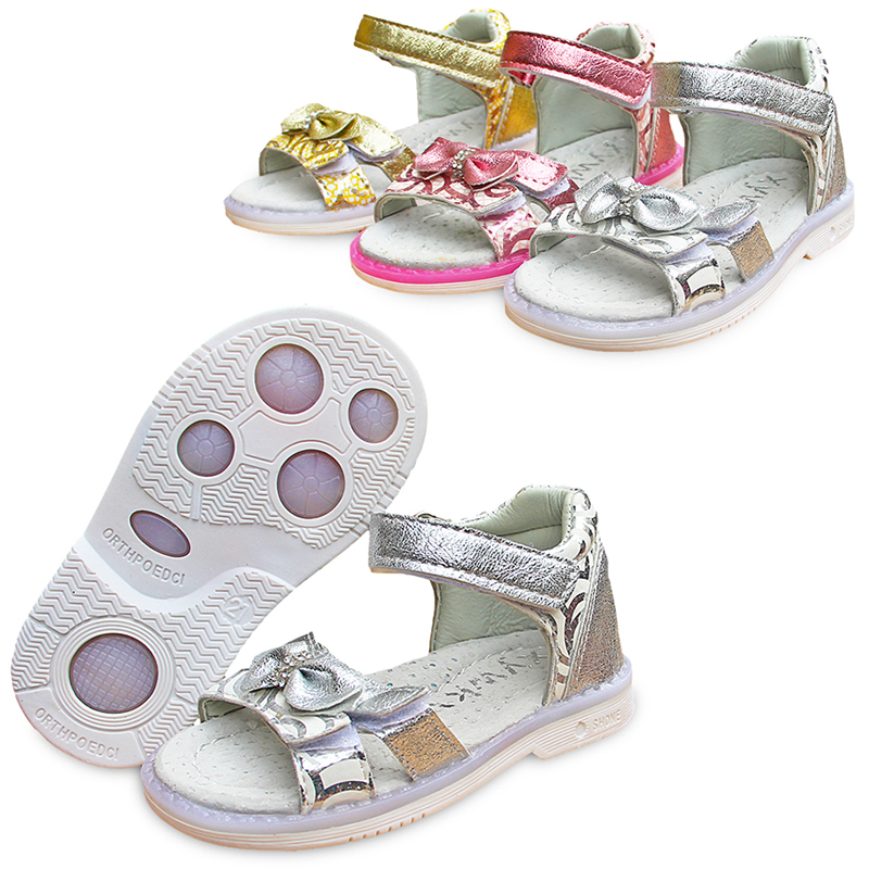 Newst  1pair Arch Support Children Sandals Orthopedic Girl Shoes,Super Quality Kids Summer Shoes