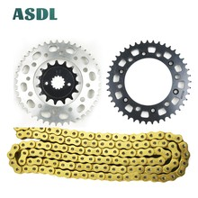 520 15T 43T Motorcycle Best Quality Transmission Drive Chain and front rear sprocket set for HONDA XR650 R XR 650 2000 - 2007 cvgaudio m 43t