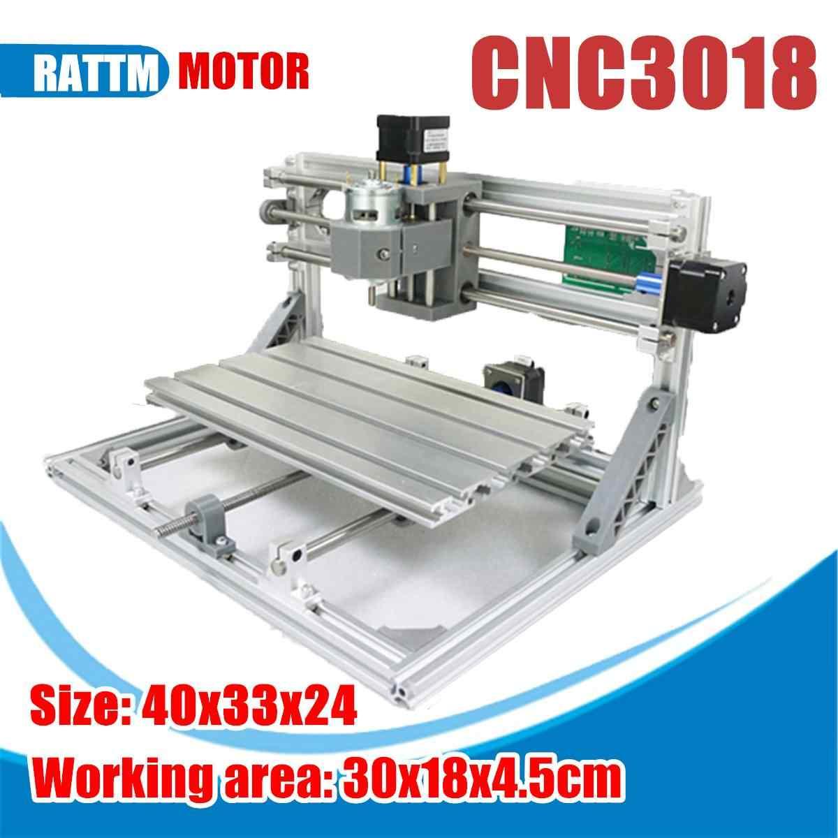 3018 3 ציר מיני DIY CNC נתב סטנדרטי ציר מנוע עץ חריטת מכונת כרסום חרט מיני CNC נתב לייזר מכונה