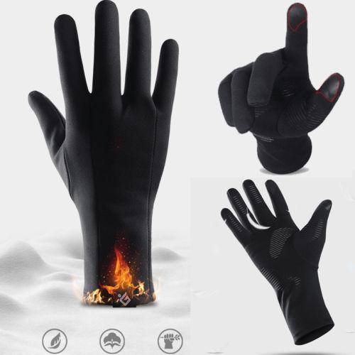 Мужские и женские зимние перчатки с сенсорным экраном, спортивные лыжные перчатки для активного отдыха, водонепроницаемые перчатки