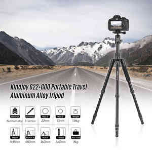 Image 5 - Kingjoy G22+G00 Portable Camera Tripod Monopod Travel With 360 Degree Ball Head For Canon Sony Nikon Dslr Ildc Cameras