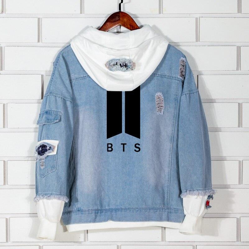 Kpop BTS fashion cotton hoodies women Korean Bangtan boys Hip Hop autumn hooded warm sweatshirt Female Harajuku Casual Clothes