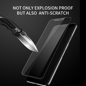 Image 3 - IHaitun Luxo 6D 11 Pro Max XS MAX XR X Protetor de Tela de Vidro Para o iphone Curvo de Vidro Temperado Para o iphone X 11 10 7 8 Plus Filme Cobertura Completa SE SE2 2020