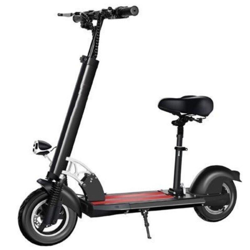 Scooter électrique SJ-01 Samokat adulte 48 V 500 W forte ville pliable puissante pour travailler Shopping vélo pliable ultra-léger