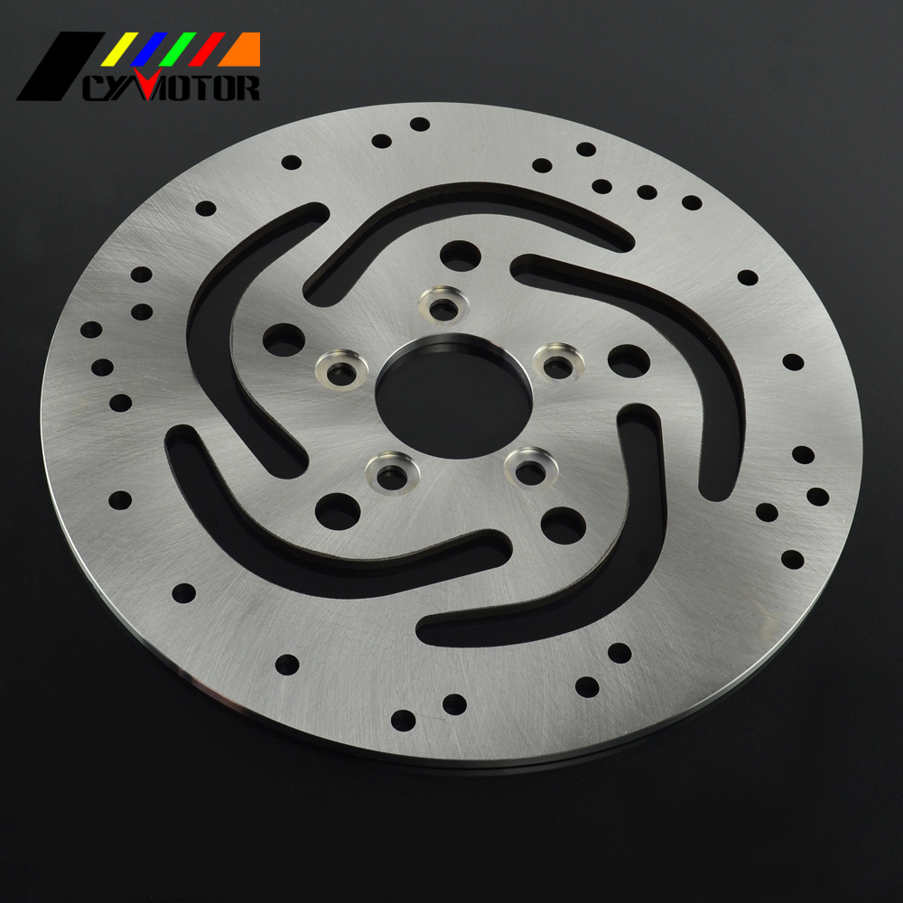 Motorcycle Rear Steel Brake Disc Rotor For XL883 XLH883 XL1200 FXD FLST FXSTB FLSTF FXSTC FXDXT