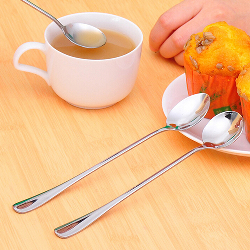 Stainless Steel Spoon with Long Handle
