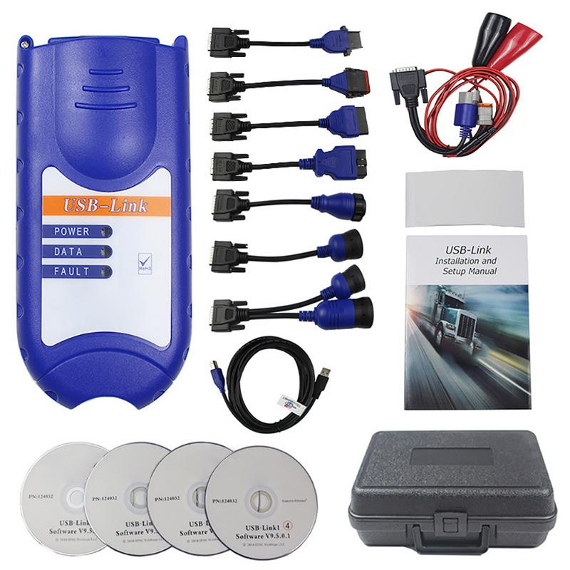 Truck OBD Fault Diagnostics Detector For NEXIQ USB Link Quick Access To Vehicle Data For Maintenance