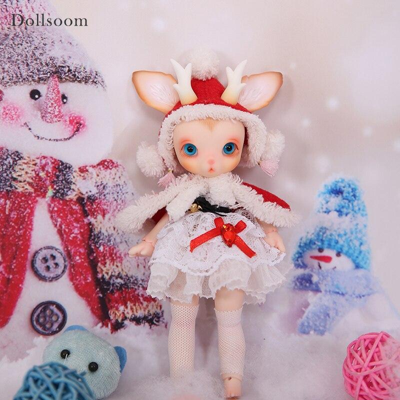 BJD куклы Руди 1/8 Рождество олень включают Fullset вариант Прекрасный Pet Совместное Куклы Oueneifs