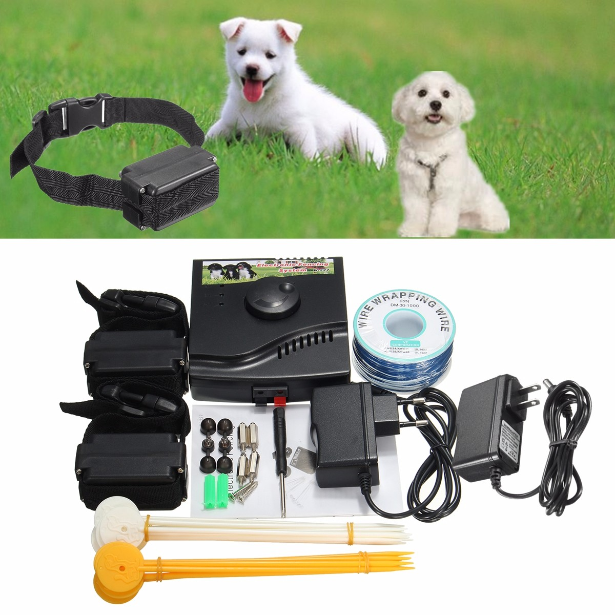Safety Pet Dog Electric Fence With Waterproof Dog