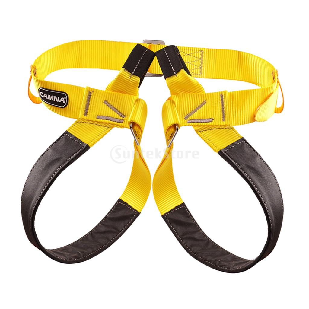 Climbing Accessories Competent Thicken Climbing Harness Adjustable Waist Leg Protection Safety Belt Half Body Outdoors