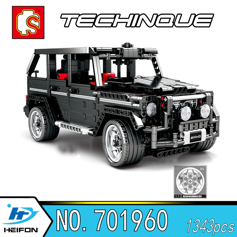 BANZ-500 Off-road vehicle Technique Model toy gift Building Blocks Bricks Compatible legoins Technic series Sembo <font><b>701960</b></font> image