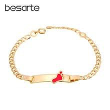 Красочный женский браслет детские ювелирные изделия золотые