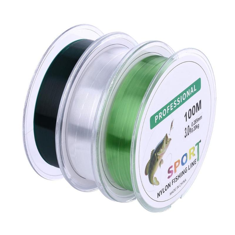 Fly Fishing Line Leader Transparent Nylon Durable Tackle Super Strong Fly Line