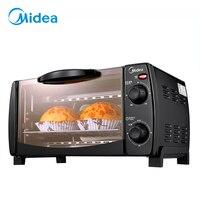 Тостер печь для пиццы кебаб печь Домашняя мини печь 10 литров бытовой емкости двухслойная выпечка