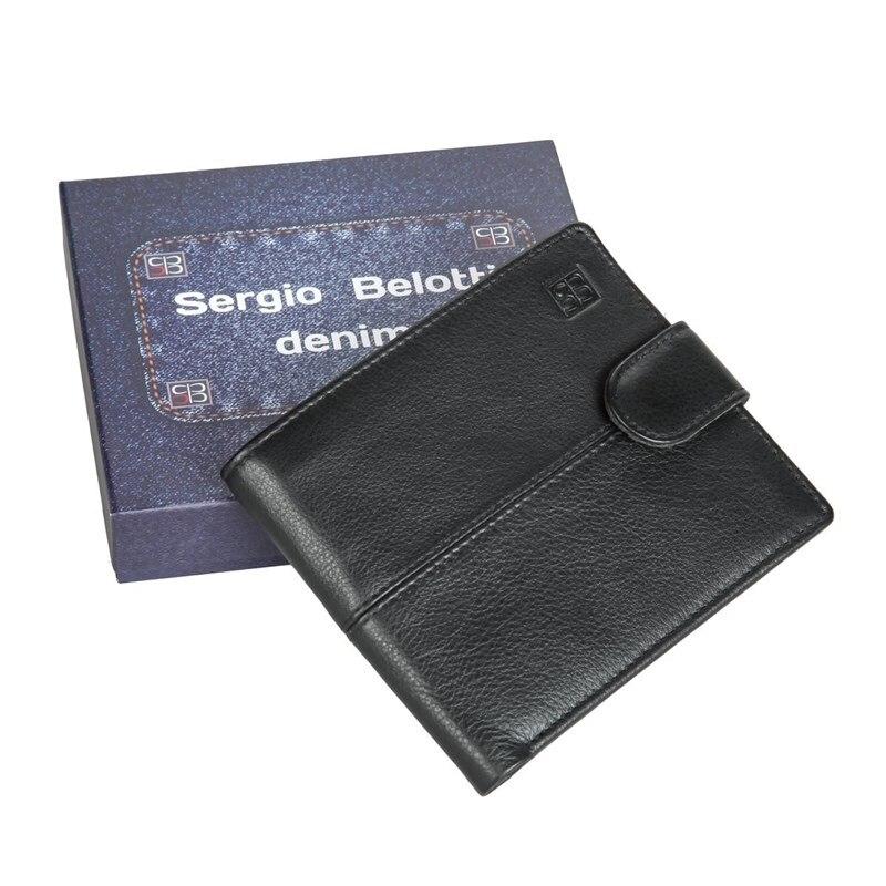 Coin Purse Sergio Belotti 1818-01 denim black 2017 cute girls coin purses small coin bag key ring kawaii bag kids mini wallet card holders leather cartoon coin purse1bw73