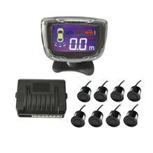 8 Buzzer Frontale vista Posteriore Sensore di Parcheggio Auto Per Tutte Le Auto del Radar di Inverso Del Monitor del rivelatore di Sistema Parktronic Assistenza Suono di Avviso