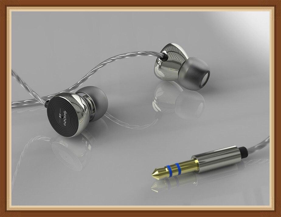 Shozy V33 Vinyl Earphones Mobile Phone Fever HiFi Music Monitor In ear Analog Flavor ACG Popular