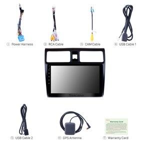 Seicane автомобильный радиоприемник с навигацией GPS для 2005 2006 2007 2008 2009 2010 Suzuki Swift 10,1