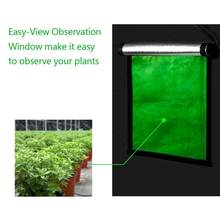 120 x 120 x 200cm Indoor Hydroponics Plant Growing Tent w/ Window Garden Greenhouse Grow Room(China)