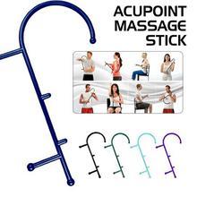 Всего тела трость обратно крюк массажер для шеи Self мышцы Давление Придерживайтесь Инструмент Acupoint палку массаж триггерный Давление массажер