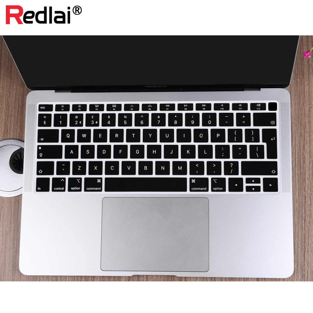 cheap for discount c297d d9be9 Keyboard Cover Skin Sleeve For MacBook Air 13 Case 2018 A1932 Ultra ...