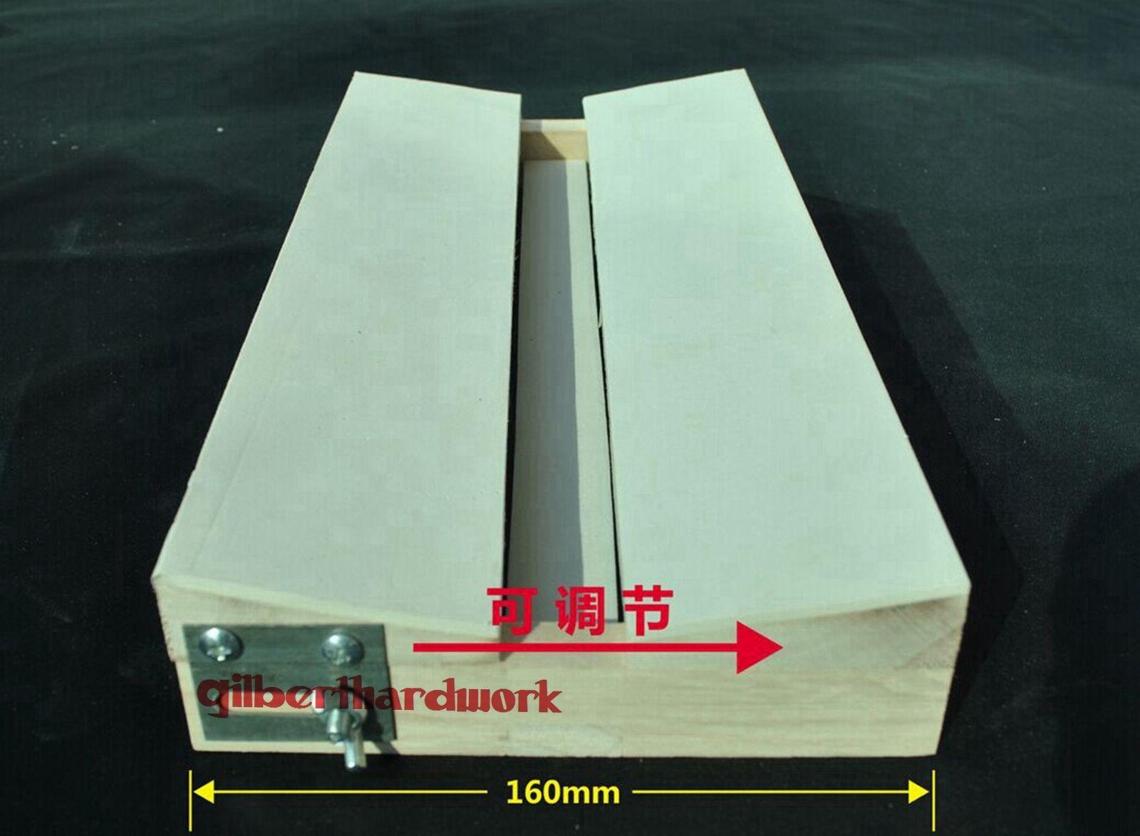 A forma de v ajusta a madeira maciça 350*160*45mm da placa de espalhamento da borboleta dos insetos