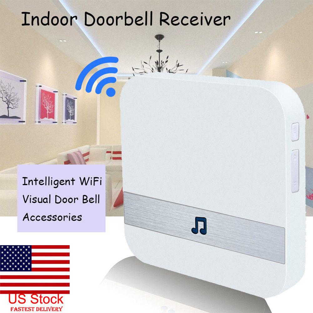 UK Smart WIFI Doorbell Dingdong Black Indoor Doorbell receiver Matched WirelessUK Smart WIFI Doorbell Dingdong Black Indoor Doorbell receiver Matched Wireless