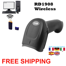 Barcode Scanner Wireless Barcode Reader RD 1908  USB 1D Wired Barcode Scanner NT 2012 For P.O.S system