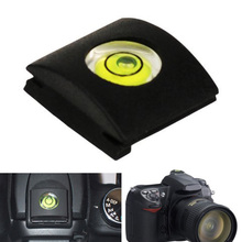 Flash Hot Shoe Protective Cover Cap With Bubble Spirit Level for Nikon  Fuji 0lympus Camera Accessories