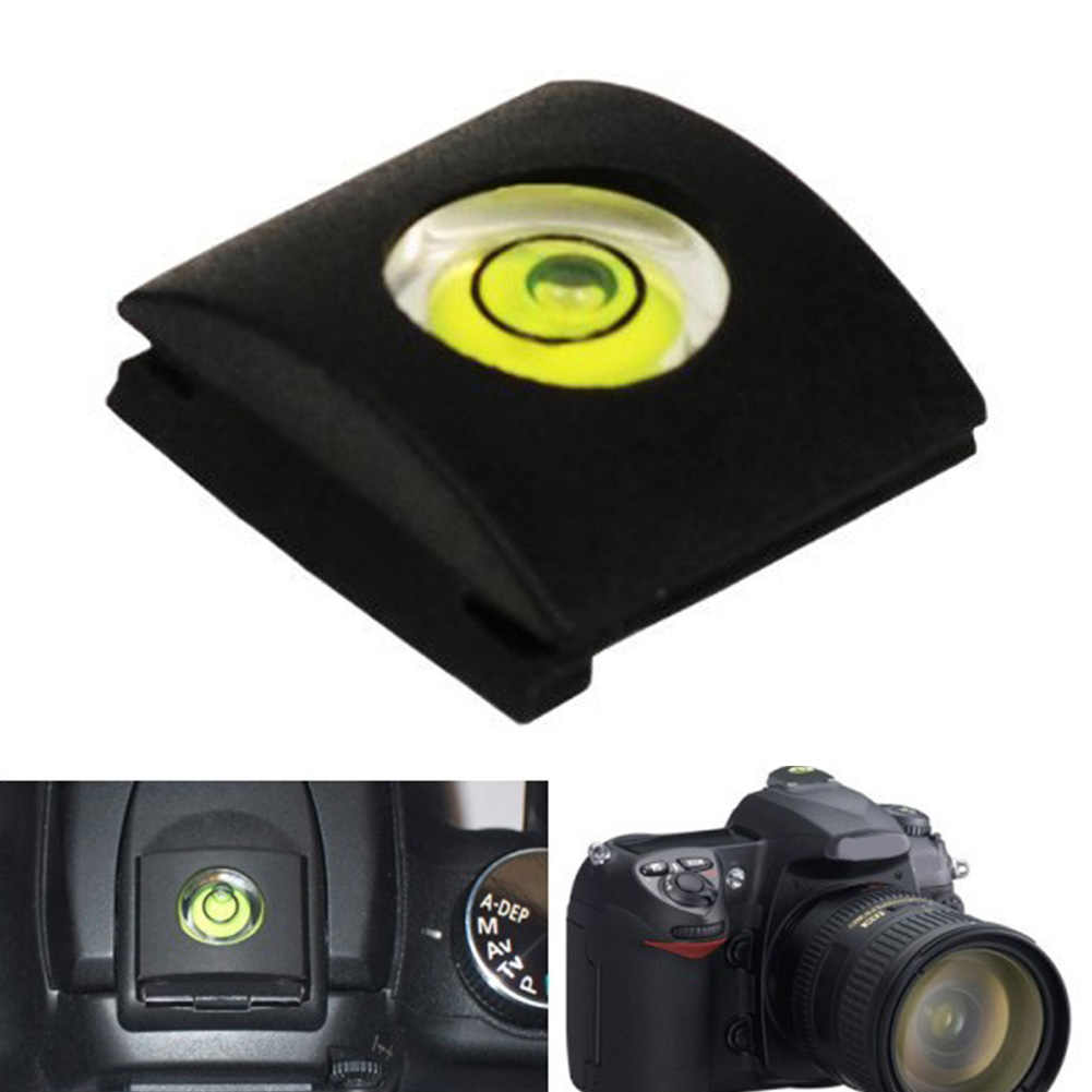 Tapa Protectora de zapata de Flash con nivel de burbuja para Nikon Fuji 0 accesorios de cámara lympus