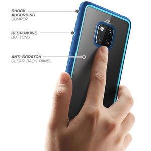 Image 5 - Pour Huawei Mate 20 Pro etui LYA L29 2018 SUPCASE Style UB anti coups Premium hybride pochette de protection en polyuréthane thermoplastique + coque arrière transparente