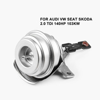 Autoleader Turbo Wastegate Vakuum Antrieb Zink 434855-0015 Fit für VW 1 9 TDI ALH AHF AUY GT1749V für Audi a3 TDI