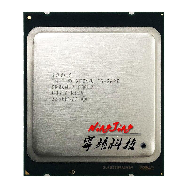 Процессор Intel Xeon E5 2620 E5 2620 2,0 ГГц, шестиядерный процессор с двенадцатью нитями 15 м 95 Вт LGA 2011 Процессоры      АлиЭкспресс