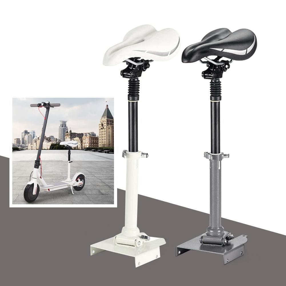 Siège de Scooter électrique siège de selle pliable hauteur réglable Absorption des chocs siège télescopique poinçonnage gratuit pour Scooter M365