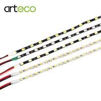 Узкий сбоку 4,7 мм Светодиодные ленты 5730 5 м/лот, Светодиодные ленты света 2835 SMD 5 мм Ширина гибкий свет DIY Знак Подсветка DC12V