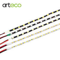 Narrow Side 4.7mm LED Strip 5730 5M/lot ,LED Strip Light 2835 SMD 5mm width flexible Light DIY Sign Backlight DC12V