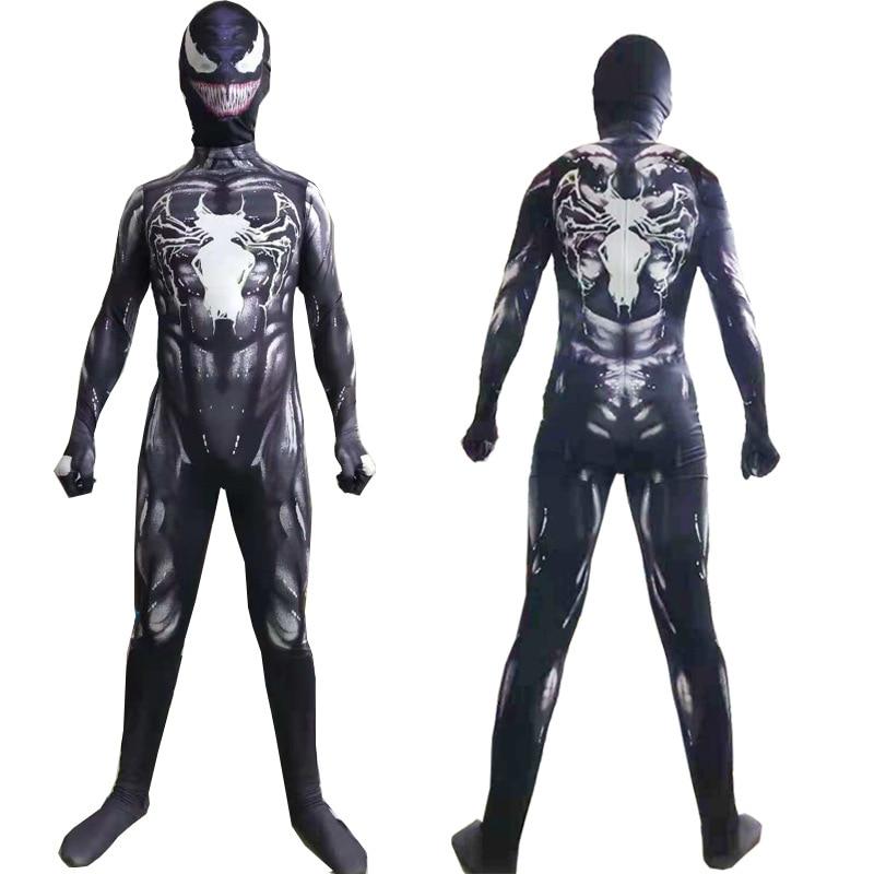 Symbiote Spiderman Suit Venom Symbiote Spiderman Costume for Adult//Kids
