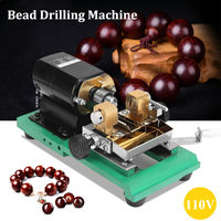 300W CNC Mini lathe machine tools DIY Woodworking Buddha Pearl Grinding Polishing Beads Wood lathe Drill Rotary Tool 110V