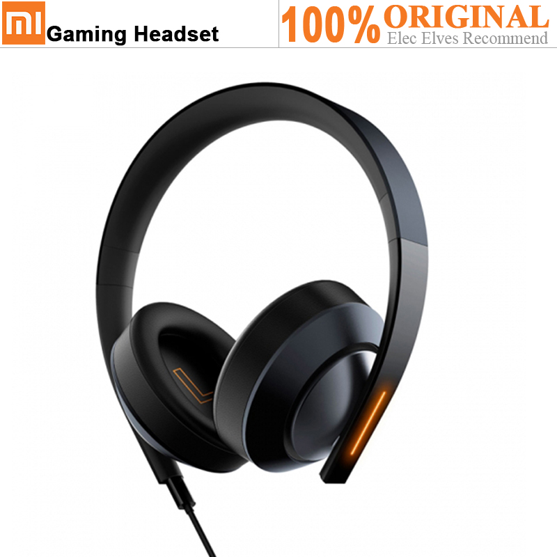 Xiaomi Game Headphone Mi 7.1 Virtual Surround Sound Headset USB Or 3.5mm AUX Connect With Mic For PC Ps4 PSP Gaming Earphone new usb 7 1 surround sound effect game headset headphone with mic with microphone led earphone hot