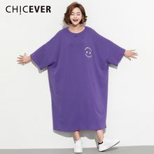 CHICEVER 2019 春レタープリント女(China)