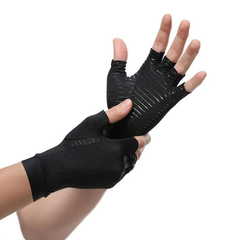 Copper Compression Arthritis Gloves Students Write Computer Typing And Everyday Support Hands Sports Training Fitness