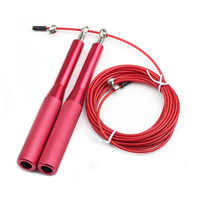 Jump Rope Ultra-speed Skipping Rope Steel Wire jumping ropes for Boxing Gym Fitness Training 3 Meters Adjustable Speed Gym