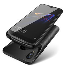 Extpower Shockproof Acculader Case Voor Xiao mi mi 8 9 se A2 Mi 6 mi x 2 2 s externe Lader Cover Backup Power Bank(China)