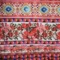 Tela de algodón puro de flores geométricas de teñido reactivo para el vestido tissus au metre bazin riche getzner DIY tissu tela africana